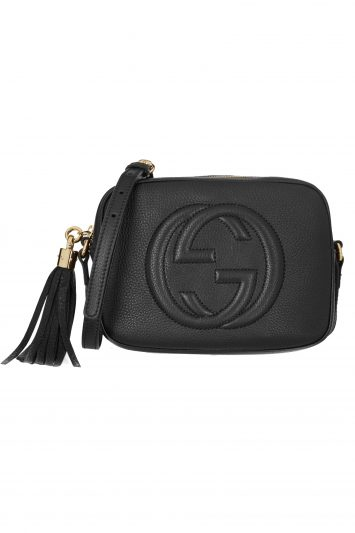Click to Buy Gucci Soho Textured Leather Bag