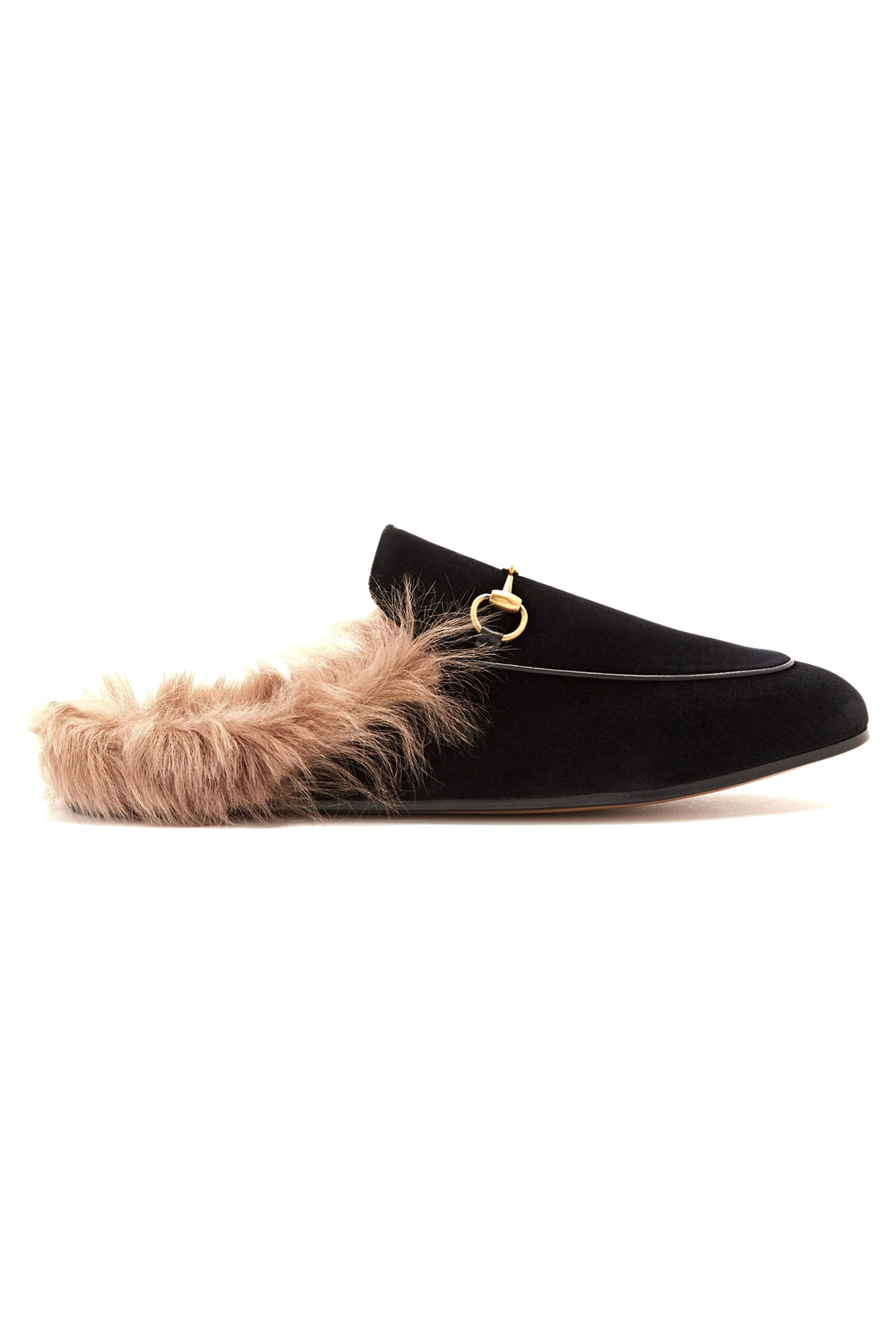 Buy Gucci Princetown Black Velvet Slipper Shoe Online 04512c084