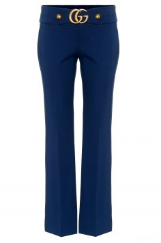 Click to Buy Gucci Stretch Jersey Double G Trousers
