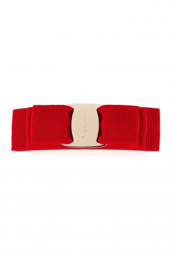 Click to Buy Salvatore Ferragamo Red Hair Clip