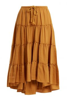 Click to Buy See By Chloé Mustard Yellow Skirt