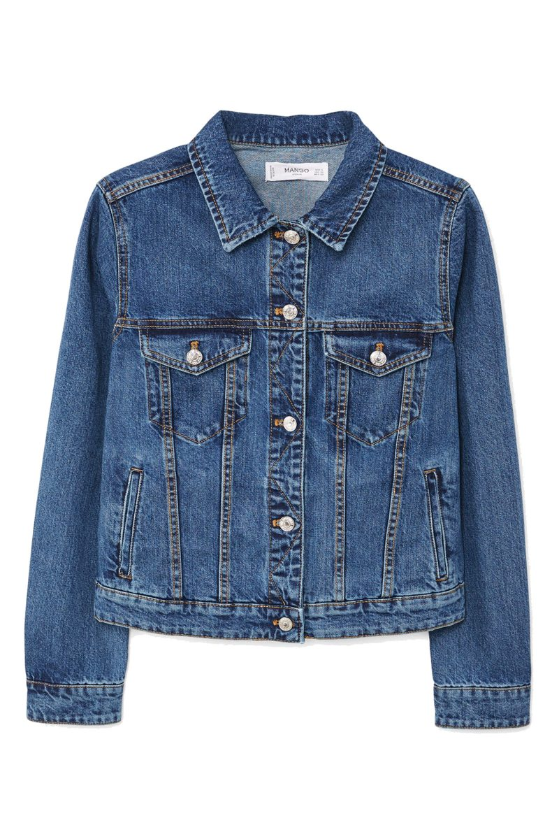 Click to Buy Mango Denim Jacket