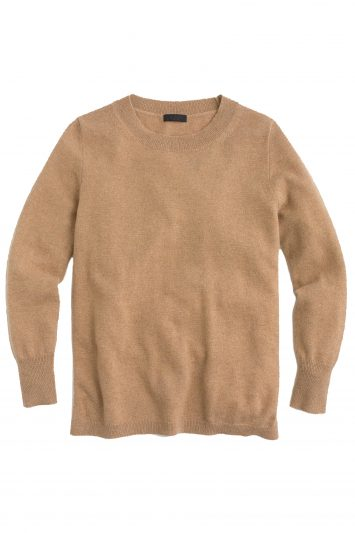 Click to Buy J. Crew Camel Cashmere Sweater