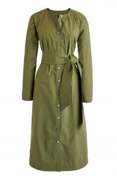 Click to Buy J. Crew Green Shirt Dress