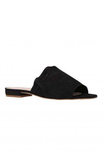 Click to Buy Kurt Geiger Slip On Black Mules Opal