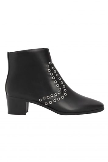 Click to Buy Black Mango Ankle Studded Boots