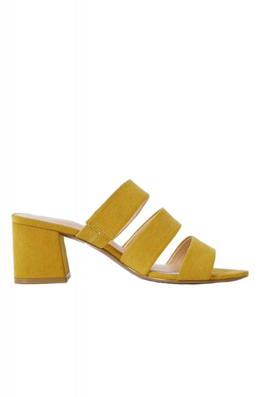 Click to Buy Marks & Spencer Block Heel Mules