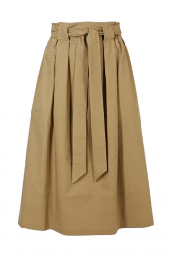 Click to Buy Marks & Spencer Cotton Midi Skirt