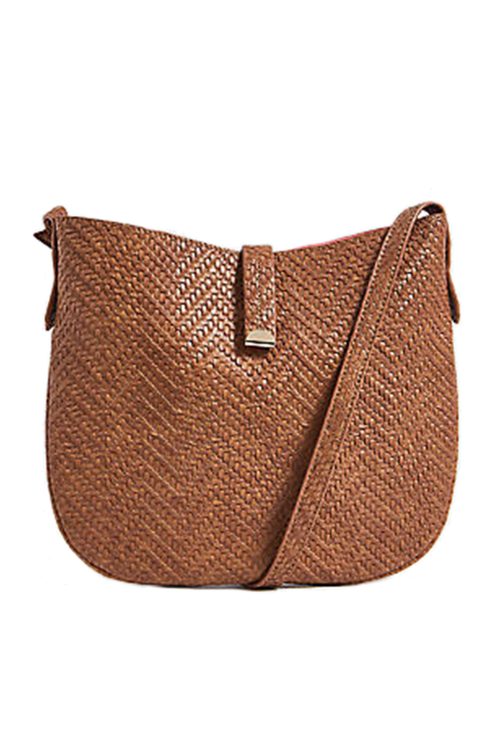 Click to Buy Marks and Spencer Faux Tan Leather Bag