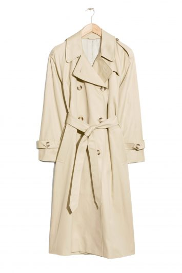 Click to Buy & Other Stories Beige Trench Coat