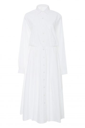 Click to Buy Rhode Resort Laura White Shirt Dress
