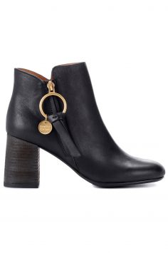 Click to Buy See By Chloé Black Ankle Boots