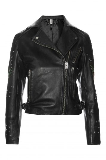 Click to Buy Topshop Leather Biker Jacket