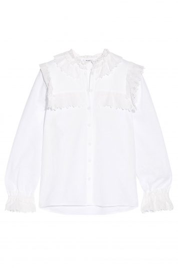 Click to Buy Vilshenko White Blouse