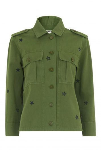 Click to Buy Whistles Khaki Jacket