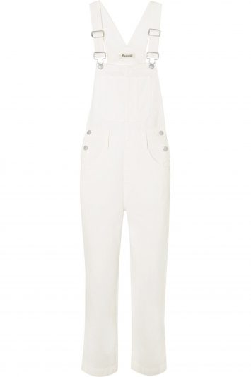 Click to Buy White-Madewell-Denim-Overalls