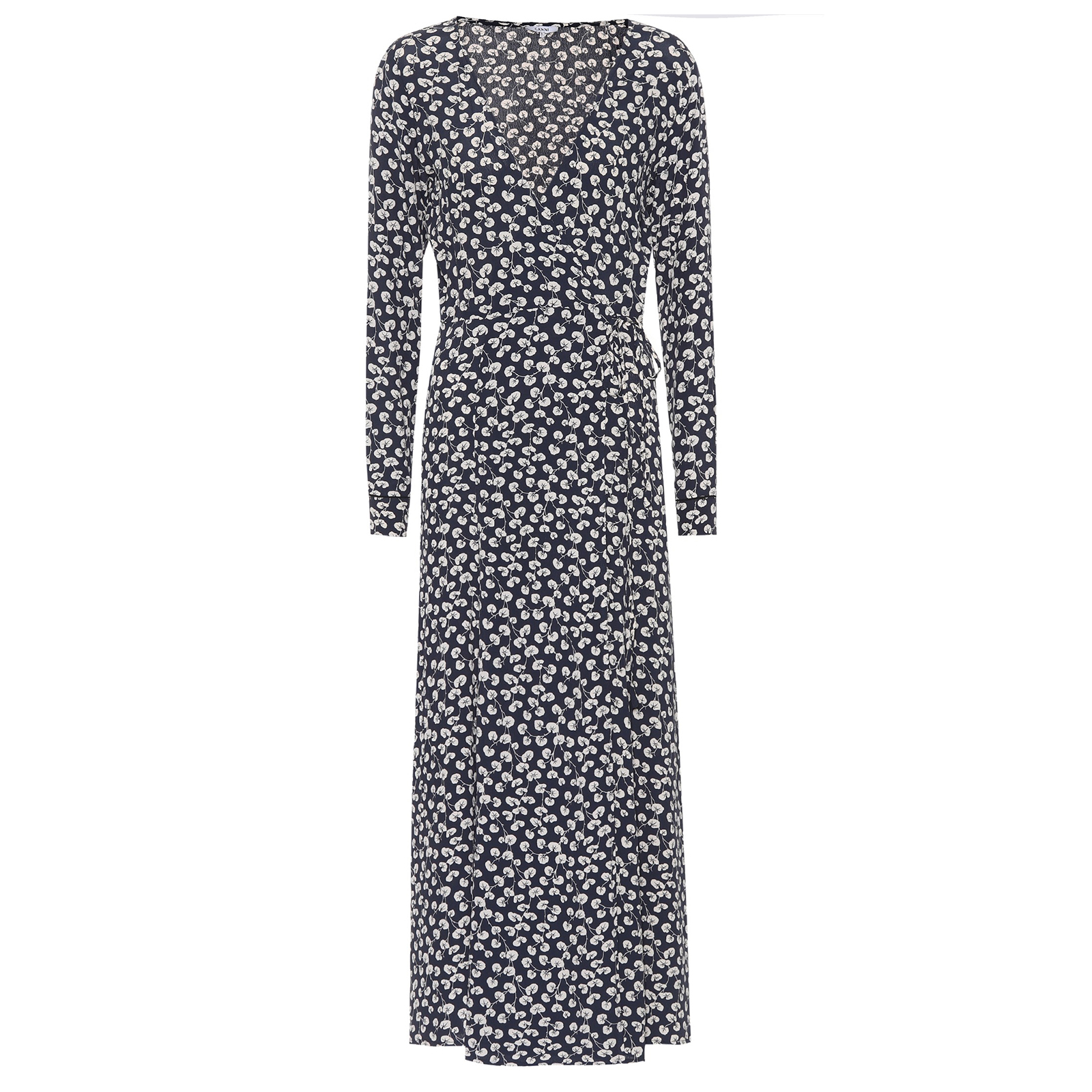 Click to Buy Ganni Wrap-Dress