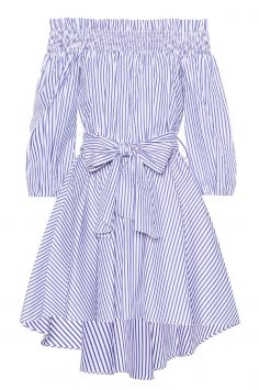 Click to Buy Caroline Constas Lou Striped Dress