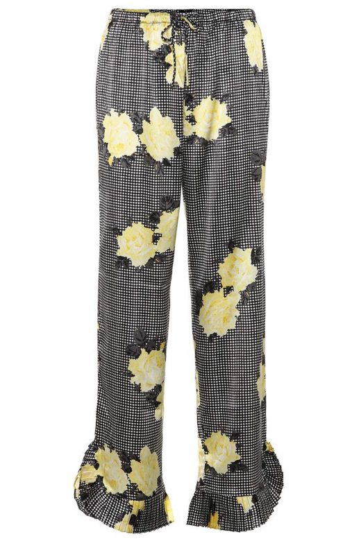click to buy ganni trousers