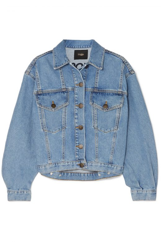 Click to Buy Maje Denim Jacket