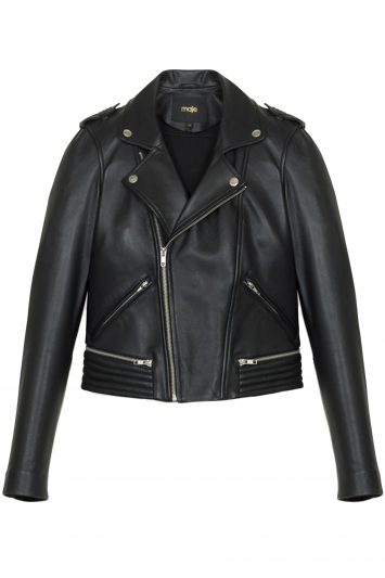 Click to Buy Maje Perfecto Leather Jacket
