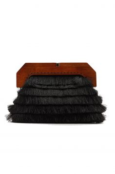 Click to Buy Mango Fringe Clutch