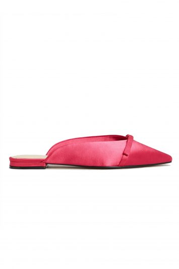 Click to Buy Mango Pink Bow Slides