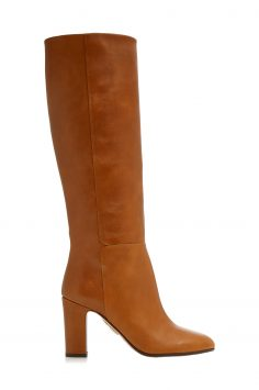 Click to Buy Aquazzura Tan Bera Leather Boots
