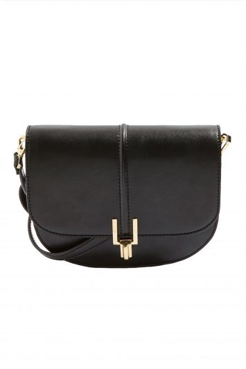 Click to Buy Topshop Black Rue Cross Body Bag