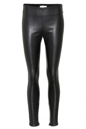 Click to Buy Velvet Leather Leggings