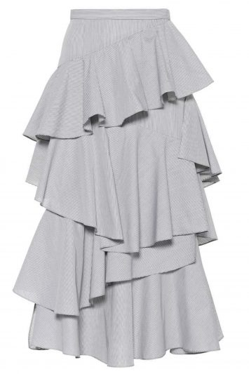 Click to Buy ALEXACHUNG-Ruffle-Skirt