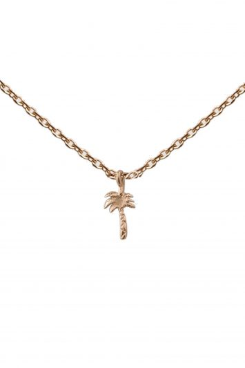 Click to Buy Aurum + Grey Petite Palm Necklace