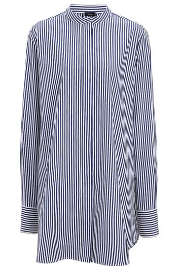 Click to Buy Joseph Carla Blue Stripe Blouse