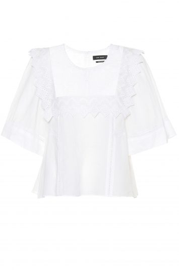 Click to Buy Isabel-Marant-Short-Sleeve-Blouse