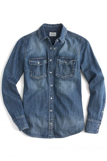 Click to Buy J. Crew Chambray Western Shirt