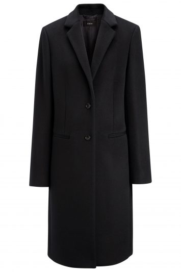 Click to Buy Joseph New Wool Black Martin Coat