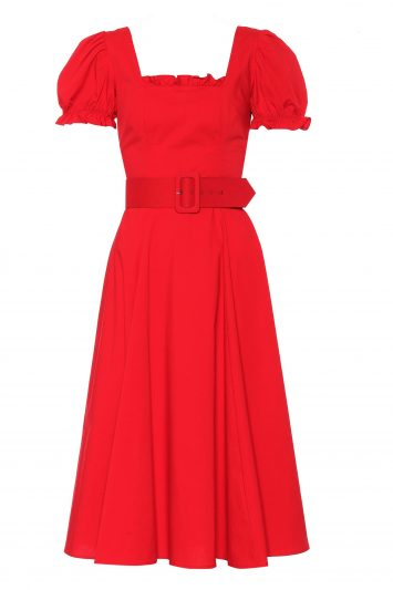 Click to Buy Staud Red Cherry Dress