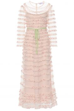 Click to Buy REDValentino Pink Floral Dress