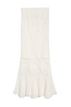 Click to Buy Topshop Crochet-skirt