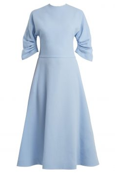 Click to Buy Emilia Wickstead Blue Dress