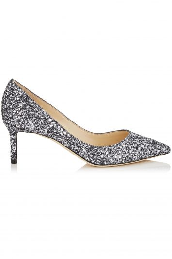 Click to Buy Jimmy Choo Glitter-Romy Pumps