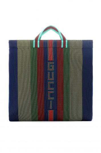 Click to Buy Gucci Woven Tote Shopper Bag
