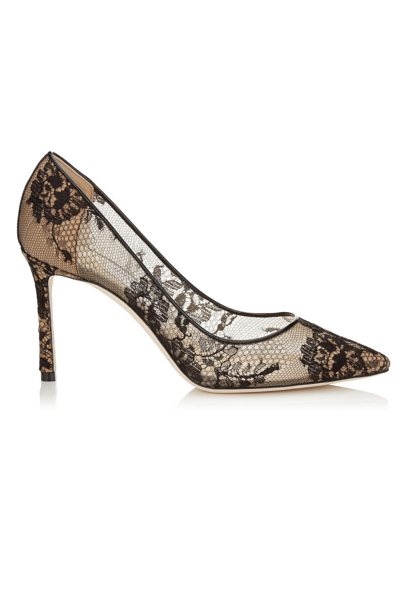 Click to Buy Jimmy Choo Lace-Romy Pumps