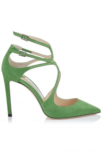 Click to Buy Jimmy Choo Lancer-Green-Heels