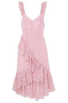 Click to Buy LoveShackFancy Pink Ruffle Dress