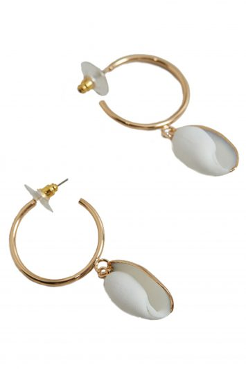 Click to Buy Mango-Shell Earrings