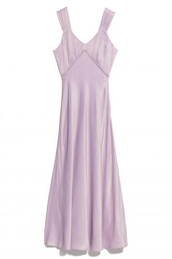 Click to Buy & Other Stories Purple Dress