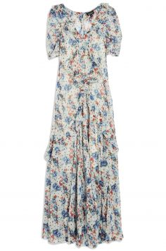 Click to Buy Topshop Spot Floral Bead Dress