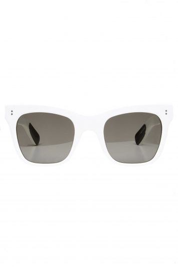 Click to Buy Joseph Draycott Sunglasses in White