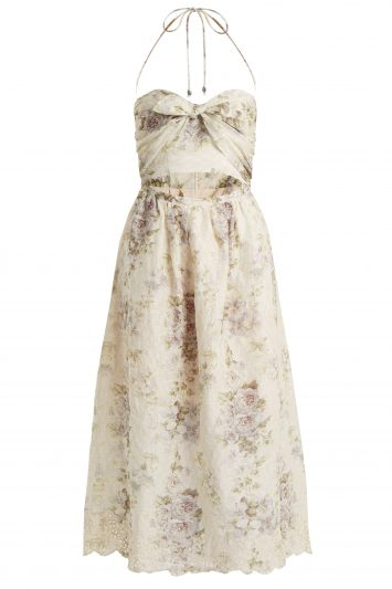 Click to Buy Zimmermann Iris Floral Dress